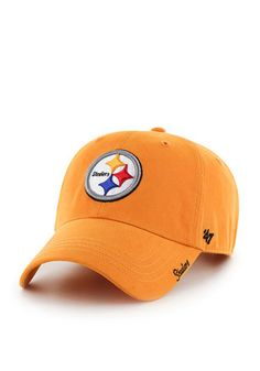 47 Pittsburgh Steelers Gold Miata Adjustable Hat Pittsburgh Steelers  Merchandise 79ef0affa