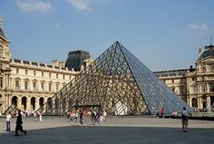 Louvre......Paris. Went there for the first time ever on my 30th b-day. Best part? No charge for admission that day! oh...and I saw the Mona Lisa and stuff.