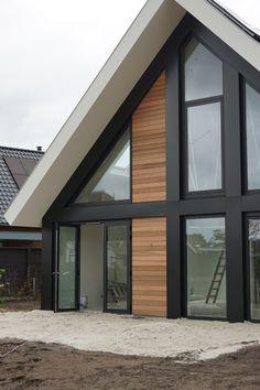 Barn House Plans, New House Plans, Dream House Plans, Facade Design, Exterior Design, Architecture Design, Flat Roof House Designs, Small Dream Homes, Dream House Exterior