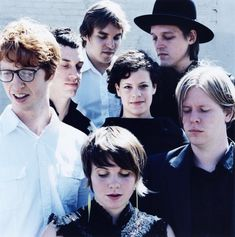 arcade fire. What can I say? They're Canadian.
