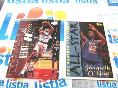 shaquille and charles barkley basketball cards