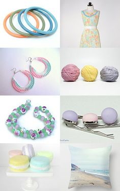 Pastel Power by Sarah Francis on Etsy