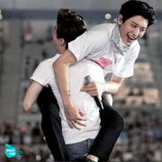 #Chanyeol and #HENRY
