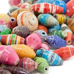 Savanna Multi-Colored Handmade Beads by Bead for Life | Fusion Beads
