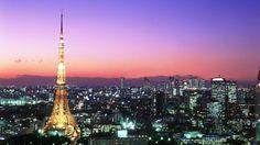 Tokyo at sunset ...