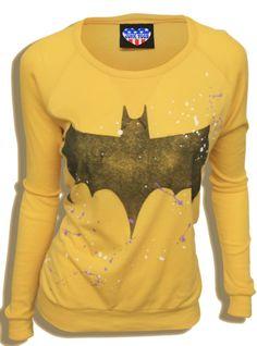 Junk Food Batman Sweatshirt. Yes.