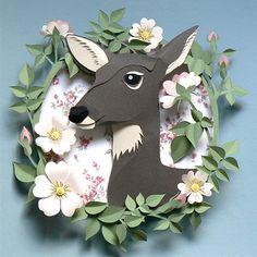 Deer Little Fawn: A World of Paper http://deerlittlefawn.blogspot.com/2013/09/a-world-of-paper.html