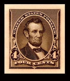Collectible+Stamps+Worth+Money | Lincoln_Plate_proof_1890-4c