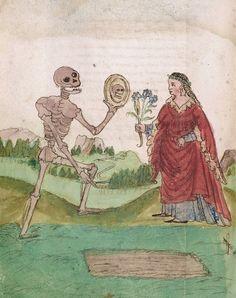 Death and the Maiden Württembergische Landesbibliothek, 16th c.