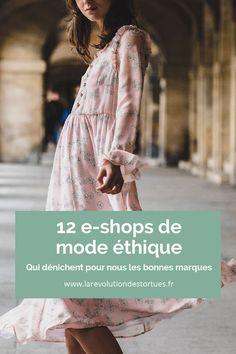 La mode co-responsable s affiche sur de plus en plus de sites : je vous em. Eco-friendly fashion shows on more and more sites: I take you to see my 12 e-shops favored