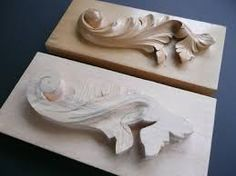 Image result for acanthus wood carving