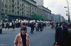 Al. Jerozolimskie, 1.05.1973. (fot. Helmut Lauterbach)
