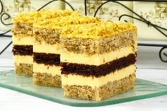 Healthy Diet Recipes, Raw Food Recipes, Cookie Recipes, Dessert Recipes, Poppy Cake, Torte Cake, Raw Food Diet, Hungarian Recipes, Food Cakes