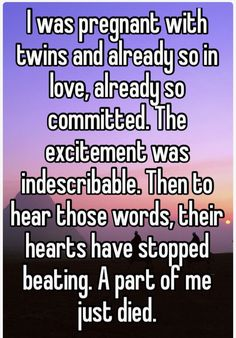 Miscarriage of my twins. ❤️❤️