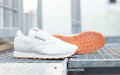 Leather Reebok classics.