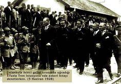 Atatürk'ün İstanbul Tuzlaya Gelişi