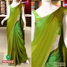 Simple n sober saree Elegant Saree, Elegant Dresses, Nice Dresses, Lace Saree, Chiffon Saree, Pink Saree, Fancy Sarees, Party Wear Sarees, Kerala Saree Blouse Designs