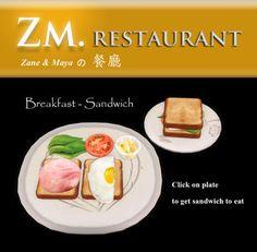 ZM Restaurant - Breakfast Sandwich