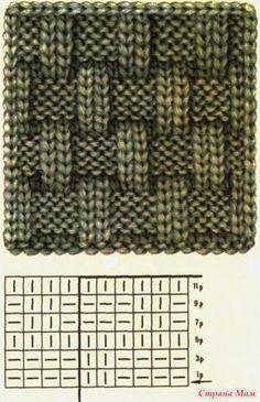Baby Knitting Patterns, Knitting Stiches, Knitting Charts, Knitting Designs, Free Knitting, Knitting Projects, Crochet Patterns, Knit Stitches, Beginner Knitting