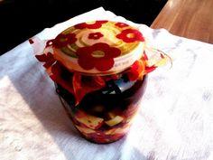 Pácolt kápia és sajt Cheese Recipes, Pancakes, Breakfast, Food, Red Peppers, Breakfast Cafe, Pancake, Essen, Yemek