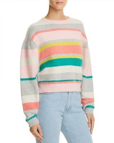 395.00$  Watch here - http://viyfb.justgood.pw/vig/item.php?t=4zlq4pn3342 - Rebecca Taylor Striped Cropped Sweater