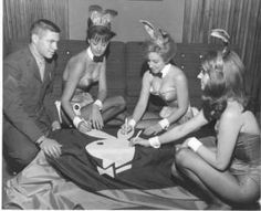 Cincinnati Playboy Club December 1966