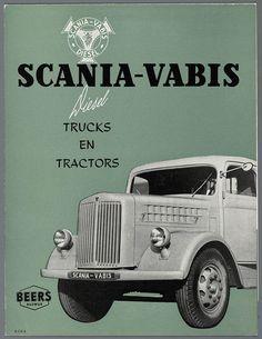 Scania Vabis vintage advertising