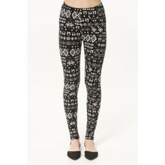 Get the latest trends in women's clothing at Ardene. Shop fashion tops, bottoms, dresses, and more in a variety of styles, fabrics and prints for all seasons. Girl Outfits, Fashion Outfits, Womens Fashion, Booties Outfit, Ethnic Print, Printed Leggings, Latest Trends, Black And White, Clothes For Women