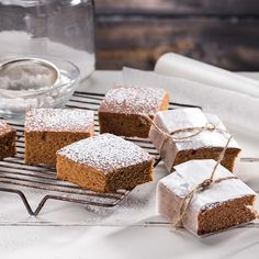 Gluten-Free Gingerbread Squares - Recipes - Sprouts Farmers Market ...