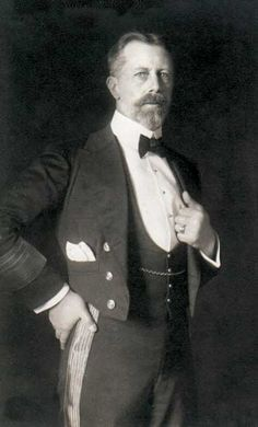 Prince Henry of Prussia was a younger brother of German Emperor Wilhelm II and a Prince of Prussia. A career naval officer, he held various commands in the Imperial German Navy and eventually rose to the rank of Grand Admiral. Prince Henry was the third son of eight children born to Crown Prince Frederick (later Emperor Frederick III), and Victor, Princess Royal (later Empress Victoria and in widowhood Empress Frederick), eldest daughter of the British Queen Victoria.