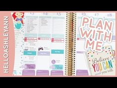 Plan With Me: How I Use My Planner - YouTube