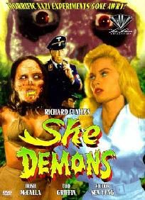 She Demons DVD Used (Free shipping)