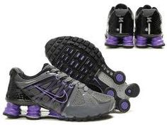 2268023acfd0 Shox Nike Shox Agent Grey Black Purple Shoes  Nike Shox Agent - Nike Shox  Agent provides great traction and cushioning for lasting comfort.