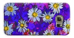 Decorative Art Flowers Samsung Galaxy Case  #flowers #art #poster #gifts