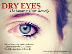 home remedy for dry eyes