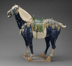 Horse (Tomb Figure), Tang Dynasty, Early 8th Century
