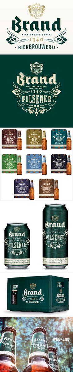 identity / brand bier / packaging