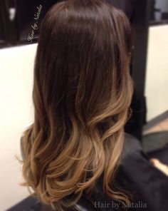 Balayage Ombre color for Brunettes. @hairbynatalia Denver CO. www.hairbynatalia.com