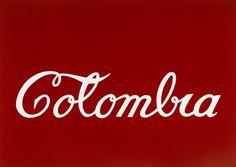 Titulo: Colombia (1977) // Autor: Antonio Caro // Tipo de obra: Pintura (esmaltes sobre latón)