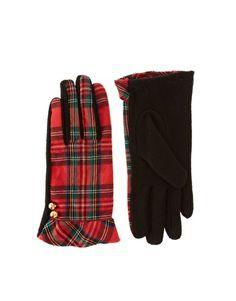 Tartan Gloves-pretty
