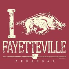 Razorbacks...loved living there.