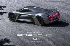 Porsche 818 le mans concept on Behance