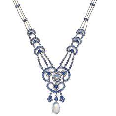 1910 Louis Comfort Tiffany Necklace  ...Amazing... delicate...Exquisite...