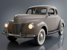 Ford V8 Deluxe 5 window  Coupe (01A-77B) '1940