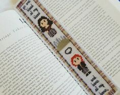 Outlander Cross Stitch Medium Sampler Pattern por HouseElfStitchery