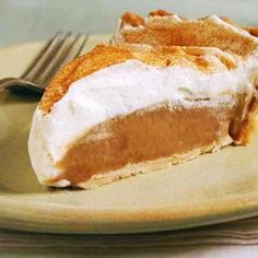 Butterscotch Pie -