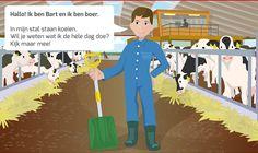 Keten met Kaas - Digitale lessen voor groep 4, 5 en 6 over de weg die kaas aflegt van de koe op de boerderij tot aan de keukentafel. Meer info op www.podiumvooronderwijs.nl/ketenmetkaas.