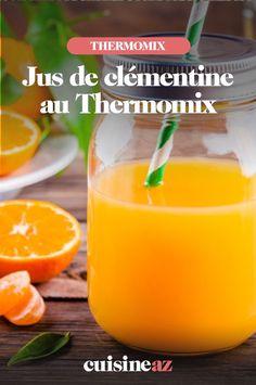 Le jus de clémentine au Thermomix est une boisson aux agrumes facile à préparer pour un brunch par exemple. #recette#cuisine#jus#jusdeclementine #robot #robotculinaire #thermomix Brunch, Cantaloupe, Fruit, Robot, Juice, Drink, Cooking Recipes, Thermomix, Robots