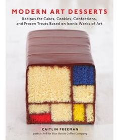 For the creative and talented bakers out there. For the rest of amazing beautiful works of yummy art. Thiebaud Pink Cake Recipe from Modern Art Desserts by Caitlin Freeman