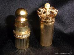 botellita de perfume con corona de Myrna Pons años 60.70 ( vendido, sold)